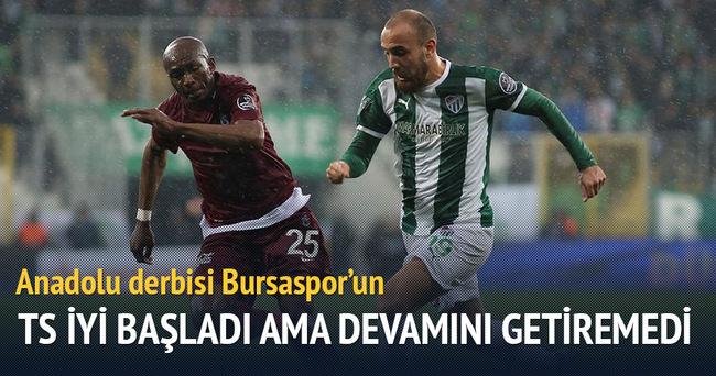 Bol gollü maç Bursaspor'un