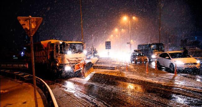 Kar İstanbul'a erken geldi