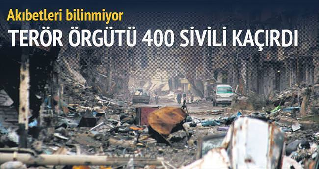 DAEŞ, Deyr ez Zor'da 400 sivili kaçırdı