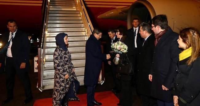 Başbakan Davutoğlu Londra'da