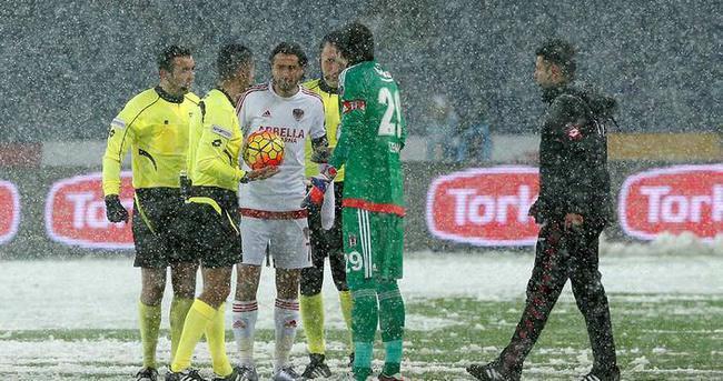 TFF'den Beşiktaş - Mersin İY maçı için flaş açıklama