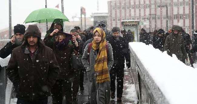Meteoroloji'den 'kuvvetli kar' uyarısı