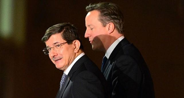 Davutoğlu-Cameron görüşmesi başladı
