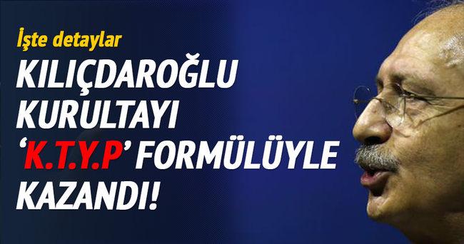Kılıçdaroğlu bu formülle tarih yazdı: KTYP