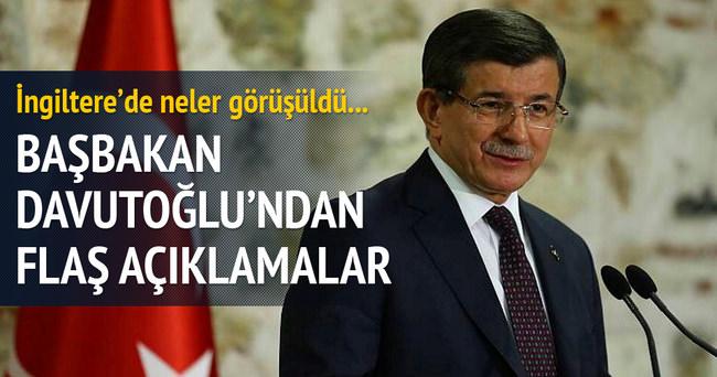 Başbakan Davutoğlu Londra'da konuştu