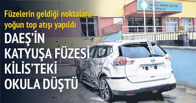 DAEŞ'in Katyuşa füzesi Kilis'teki okula düştü