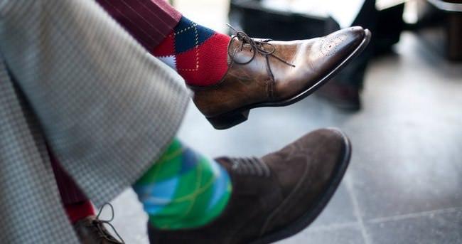 ''Giyilen çorap bileği sıkmasın''