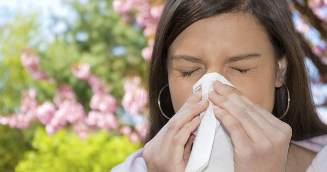 Grip alerjiyi tetikliyor!