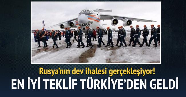 Rusların dev ihalesine en iyi teklif Türklerden