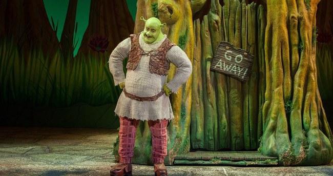 Shrek 2 hafta boyunca İstanbul'da