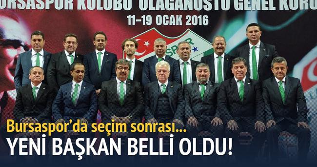 İşte Bursaspor'un yeni başkanı