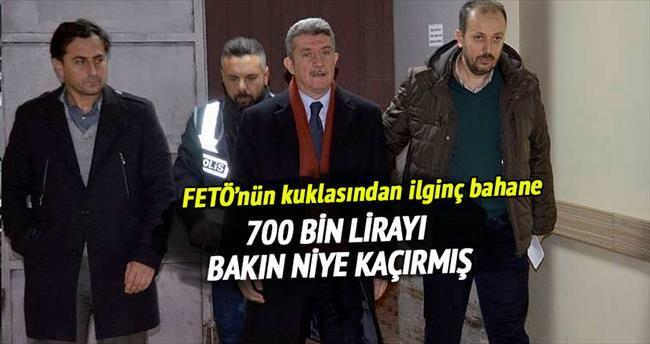 700 bin lira kaçırdı 'oğluma harçlık' dedi