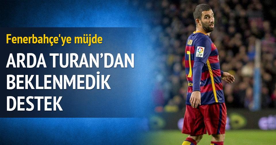 Fenerbahçe'ye Arda Turan müjdesi