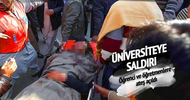 Üniversiteye silahlı saldırı ölü ve yaralılar var