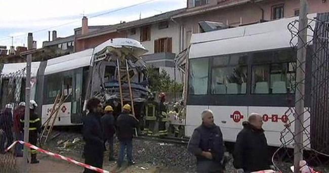 İtalya'da metro kazası: 70 yaralı
