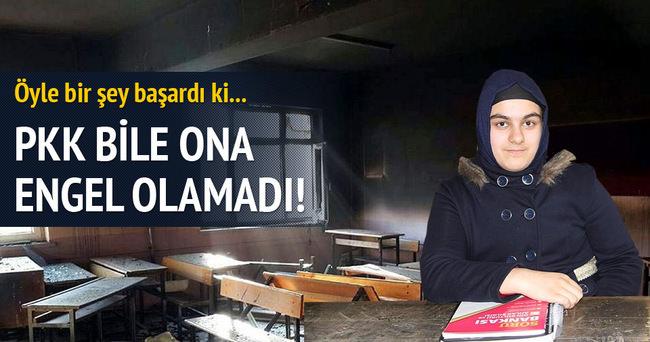 PKK bile ona engel olamadı!
