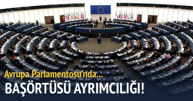 Avrupa Parlamentosu'nda AA muhabirine başörtüsü ayrımcılığı