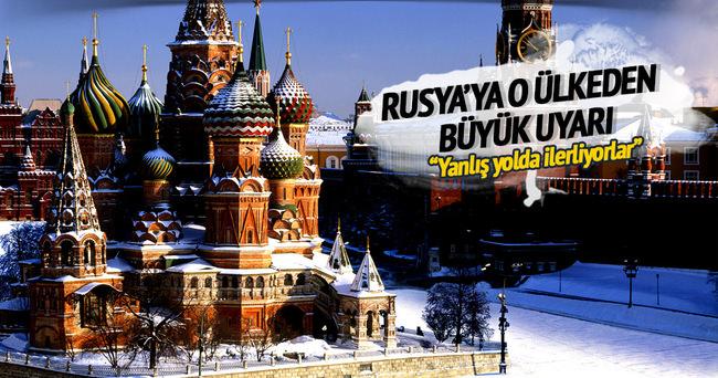 ABD'den Rusya'ya büyük uyarı
