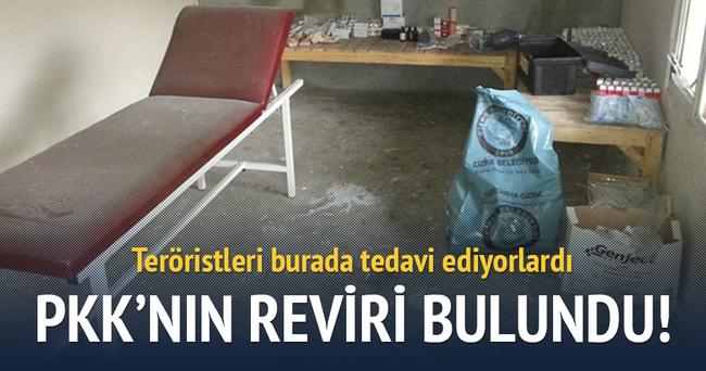 PKK'lıların reviri bulundu