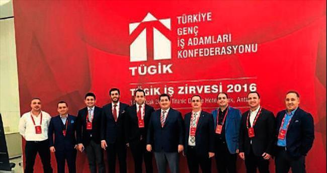 TÜGİK'in Antalya'daki İş Zirvesi'nde buluşma