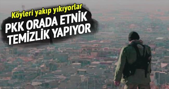 'Peşmerge ve PKK, Kuzey Irak'ta Arap köylerini yıktı'