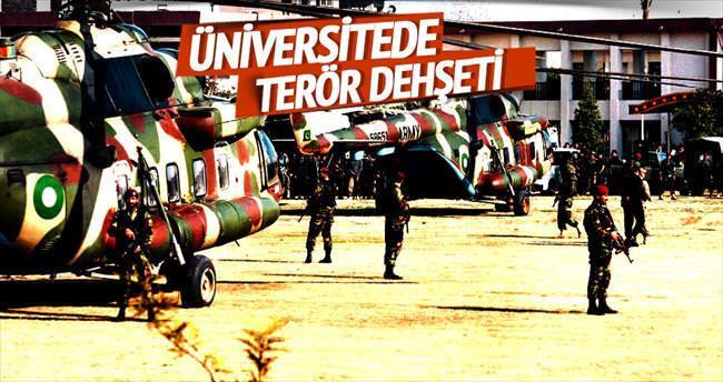 Üniversitede Taliban dehşeti