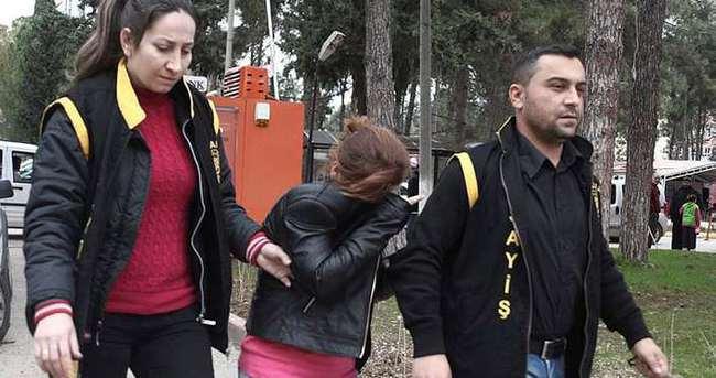 Arkadaşına evinde fuhuş yaptıran kadın tutuklandı