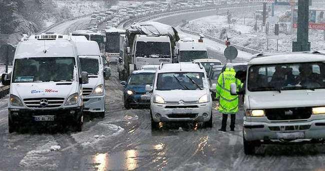 Meteorolojiden kuvvetli ve yoğun kar yağışı uyarısı