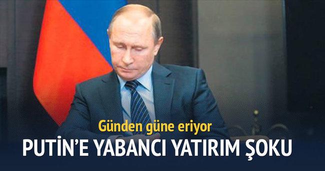 Putin'e yabancı yatırım şoku