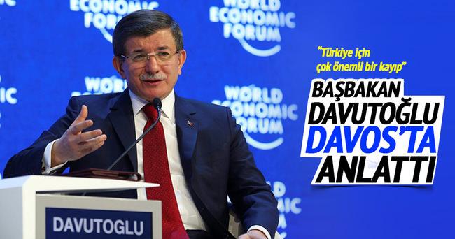 Başbakan Davutoğlu Koç'u anlattı