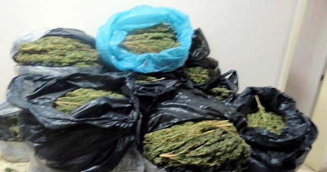Diyarbakır'da, bir haftada 677 kilo esrar, 292 gram kokain yakalandı