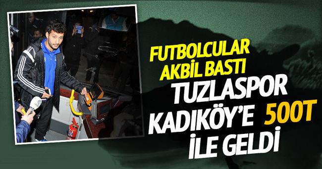 Tuzlaspor Fenerbahçe maçına 500T ile geldi