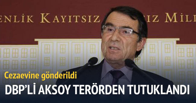 DBP'li Aksoy terörden tutuklandı