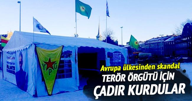 Avrupa ülkesinden skandal PKK propagandası
