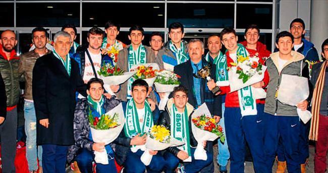 Şampiyonlar Antalya'da