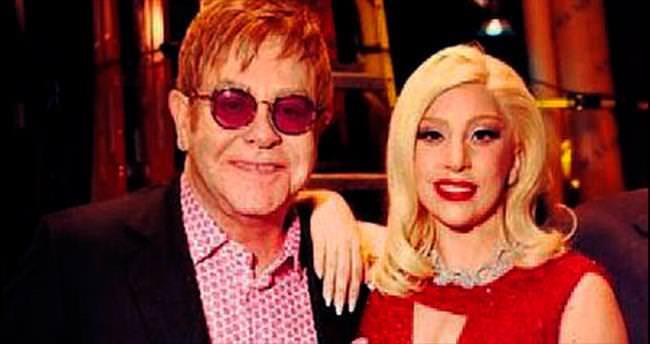 Elton John'dan Lady Gaga'ya şarkı