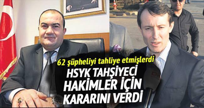 HSYK'dan Tahşiye hâkimlerine ihraç