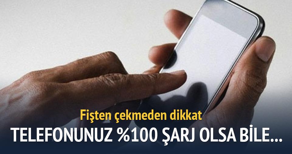 iPhone'ların şarj göstergesinde 'yüzdelik' hata