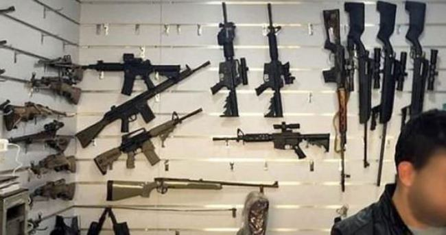 Almanya'nın gönderdiği silahlar pazarda satılıyor