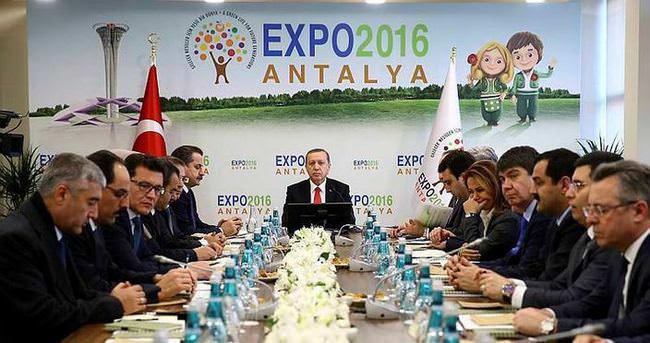EXPO 2016, Cumhurbaşkanlığı himayesinde