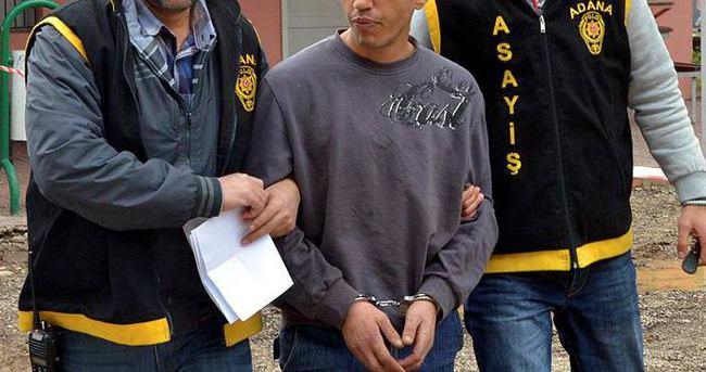 Emniyete suç ortağını ziyarete gelen şüpheli tutuklandı