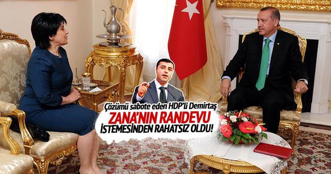 Erdoğan'dan Leyla Zana'ya yeşil ışık