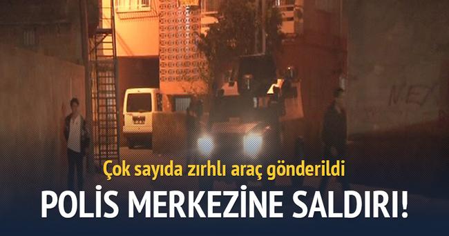 Adana'da polis merkezine saldırı!