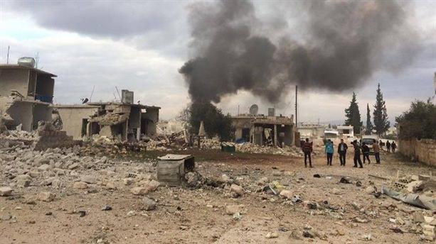 Rusya, Suriye'de 50 sivili katletti