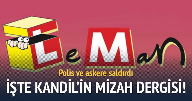 PKK yandaşı Leman!