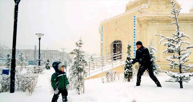 2 günlük kar tatili çocuklara yaradı