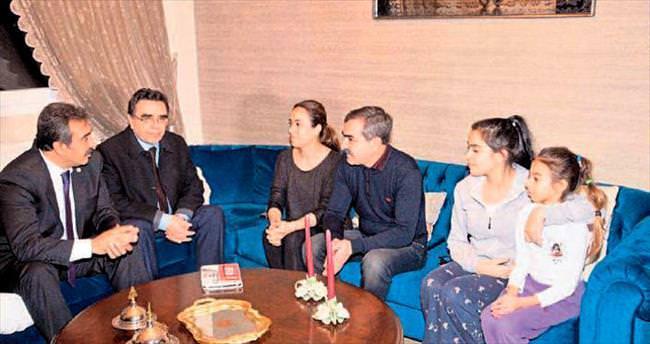 Başkan Soner Çetin'den 'Çat kapı' ziyaretler