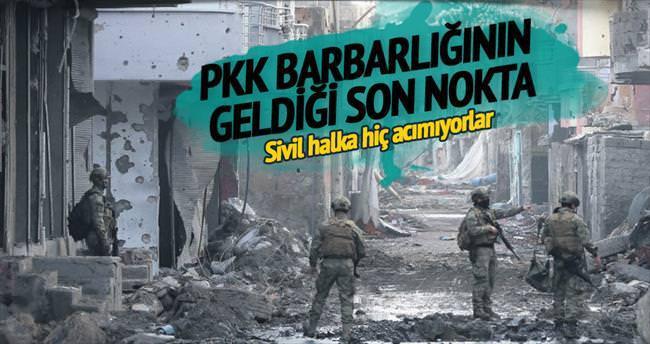 İşte PKK barbarlığı