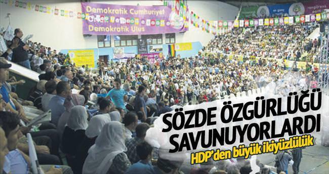 'Özgürlükçü' HDP'den basına ambargo