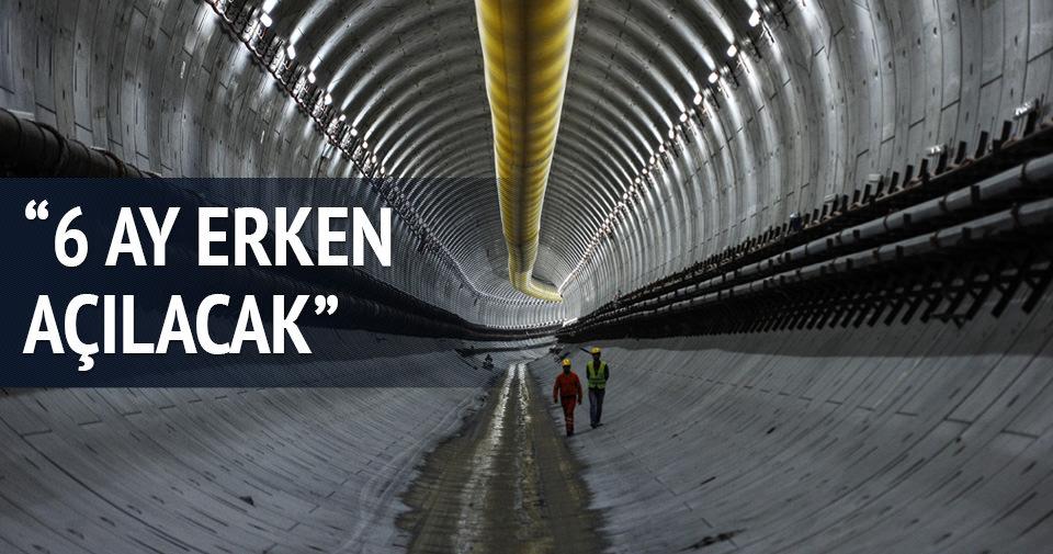 Avrasya Tüneli 6 ay erken açılıyor!